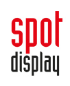 Logo: spot display GmbH Displayshop